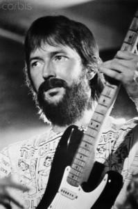 British singer Eric Clapton