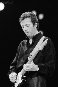 Eric Clapton Performing at an A.R.M.S. Benefit