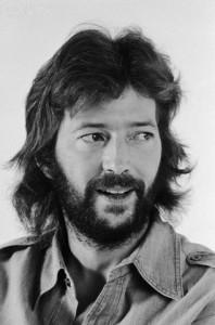 Portrait of Eric Clapton