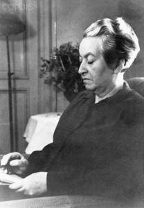 Poet Gabriela Mistral
