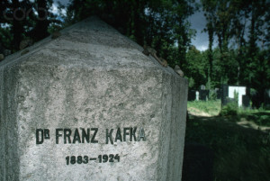 Franz Kafka's Headstone, Prague