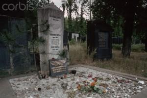 Franz Kafka's Grave, Prague