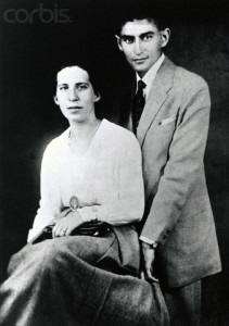 Portrait of Franz Kafka and Felice Bauer
